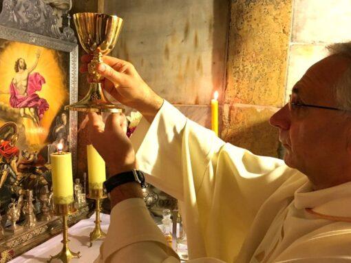 Celebrazione di Sante Messe in Terra Santa